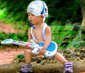 dziecko - gitara